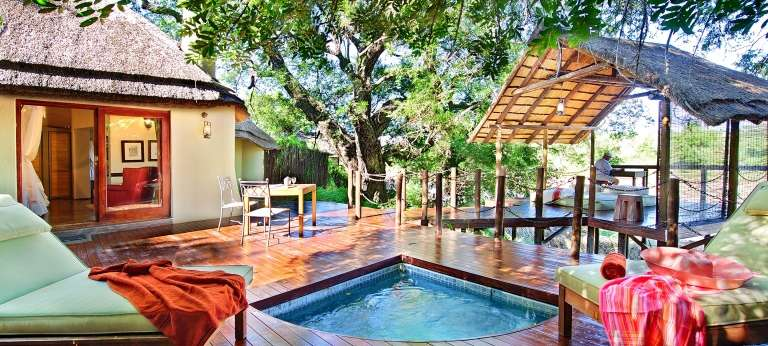 Jock Safari Lodge Plunge Pool in Kruger National Park, South Africa