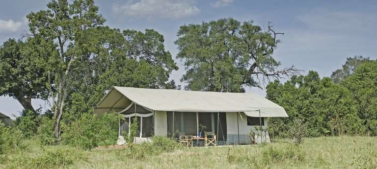 Porini Lion Camp  Exterior view, Olare Orok, Masai Mara, Kenya