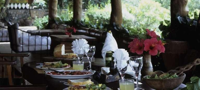 Semliki Safari Lodge Dining Area