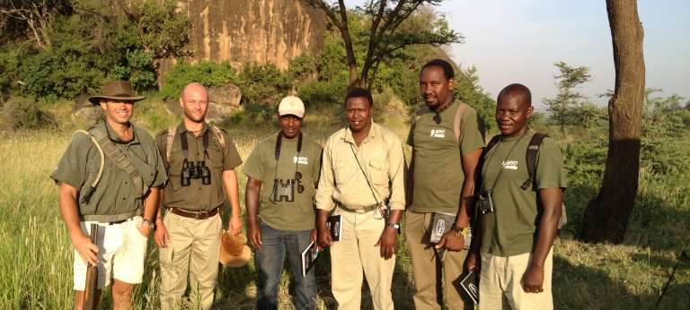 Wayo Green Camp Walking Safaris Guides in Serengeti National Park