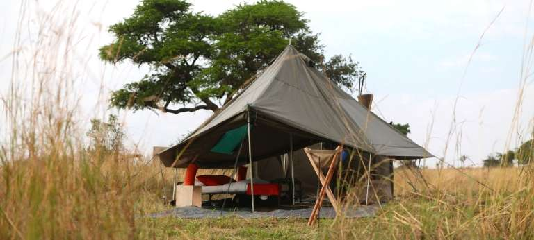 Wayo Green Camp Exterior View in Serengeti National Park