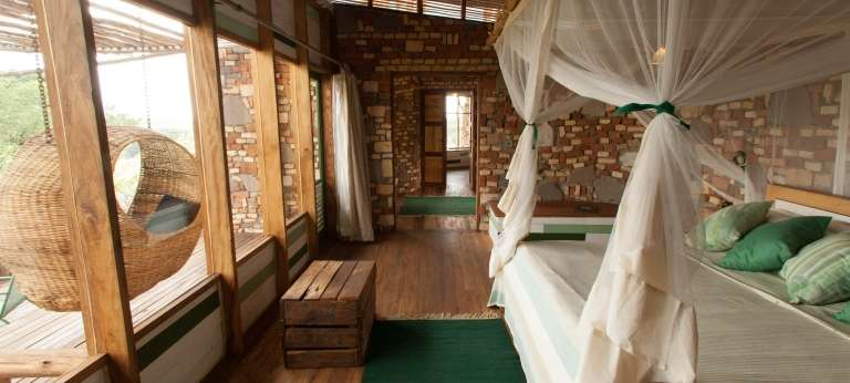 Volcanoes Kyambura Lodge Interior