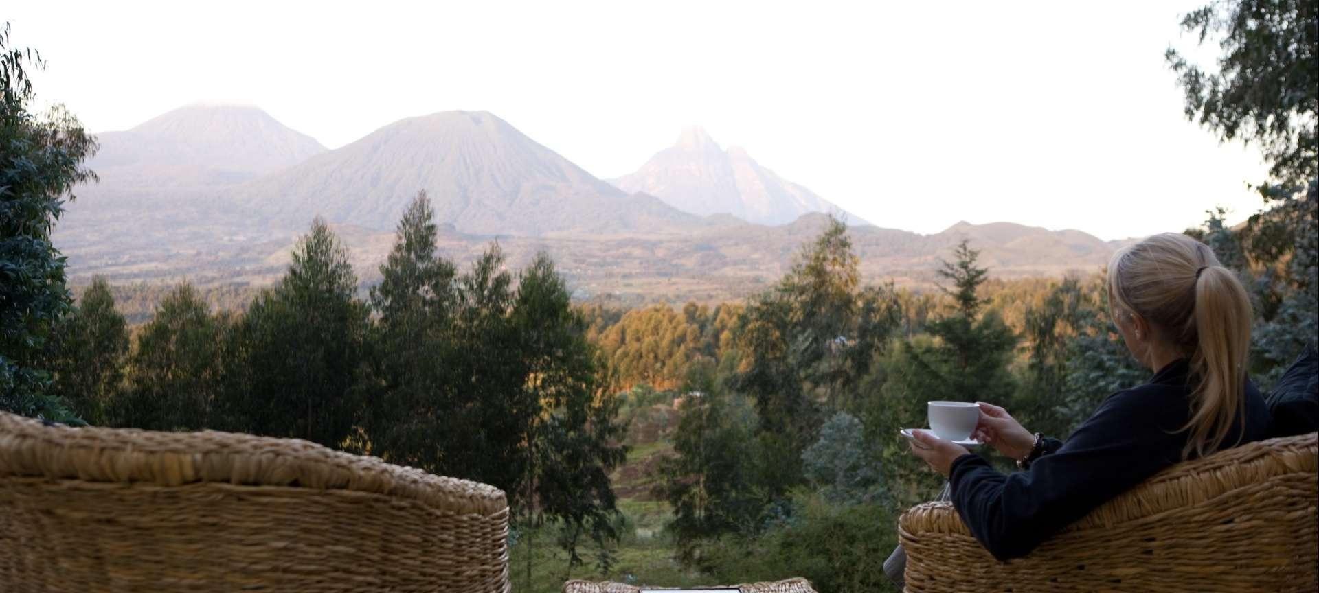 Sabinyo Silverback Lodge scenic view