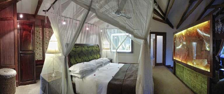 Bedroom at Arusha Coffee Lodge in Tanzania