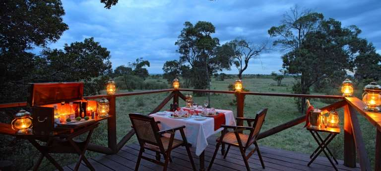 Elephant Pepper Camp Dining, Kenya