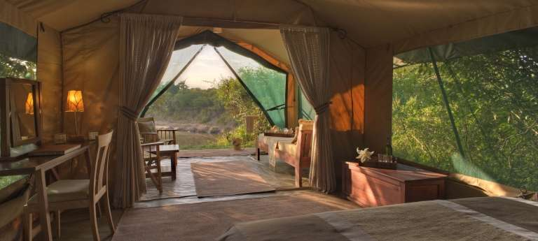 The bedroom view at Rekero Mara Camp, Accomodation, Kenya