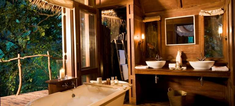 Lake Manyara Tree Lodge Bathroom in Lake Manyara, Tanzania