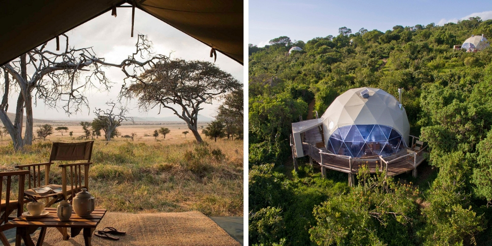 Serengeti accommodation nomad serengeti safari camp the highlands camp
