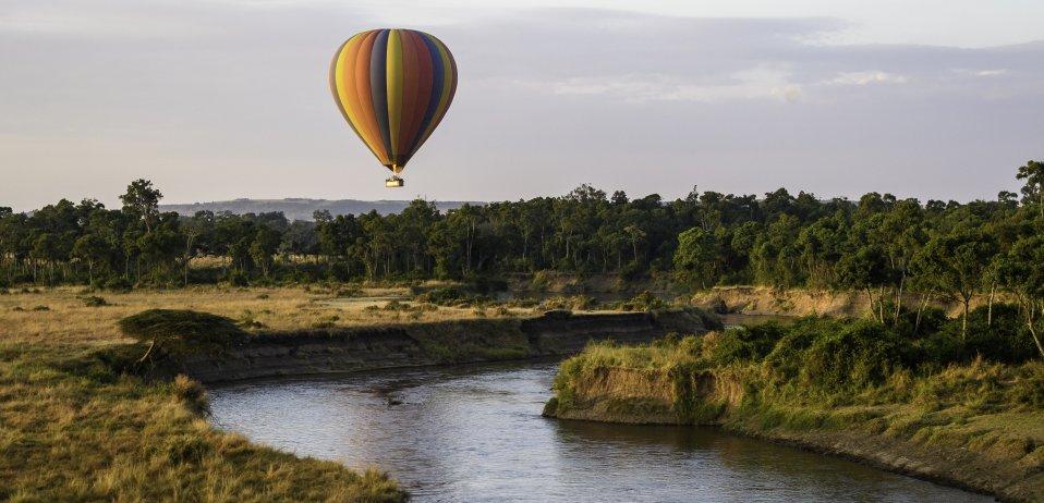 balloon safari kenya little governors camp