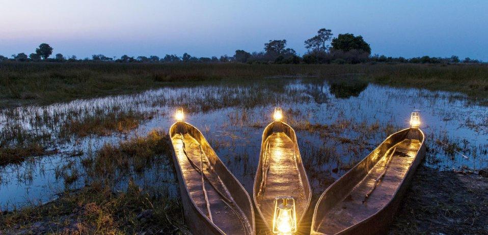 Okavango delta botswana safari mokoro 3