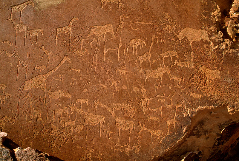 san rock art in namibia