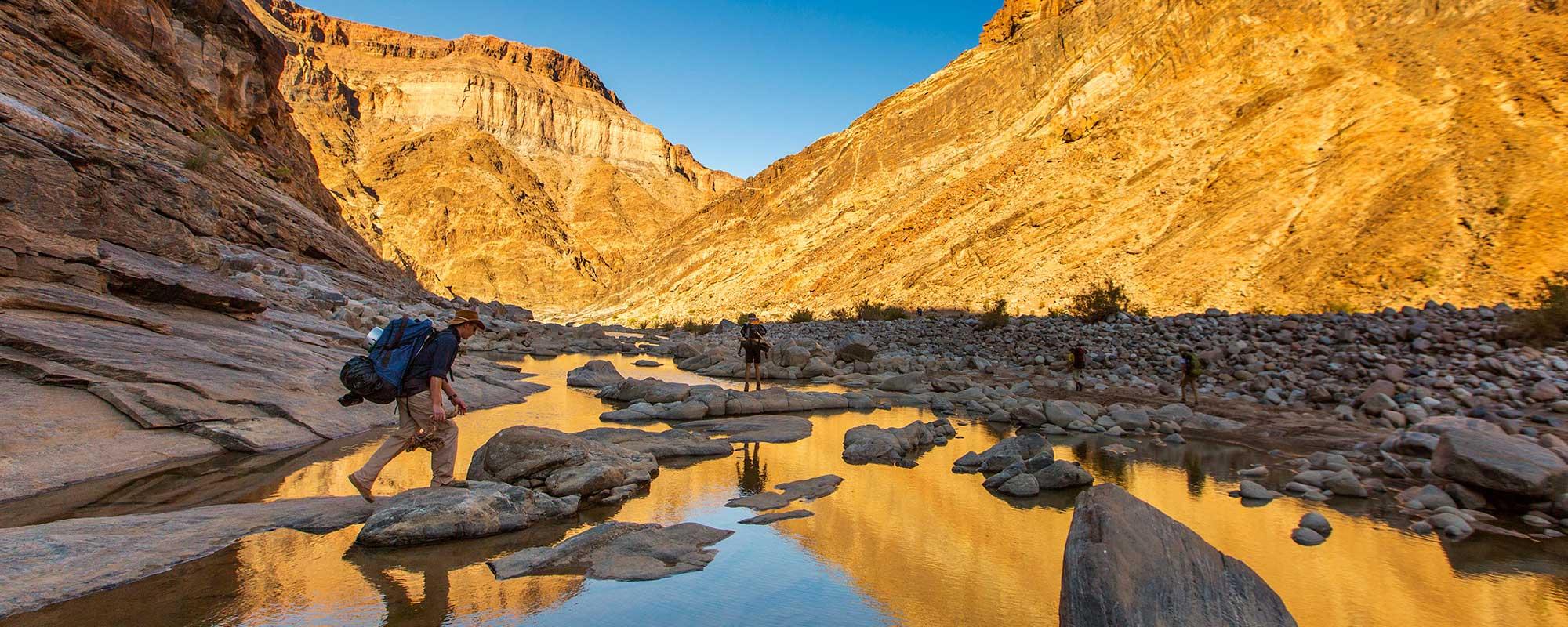 fish river canyon namibia adventure
