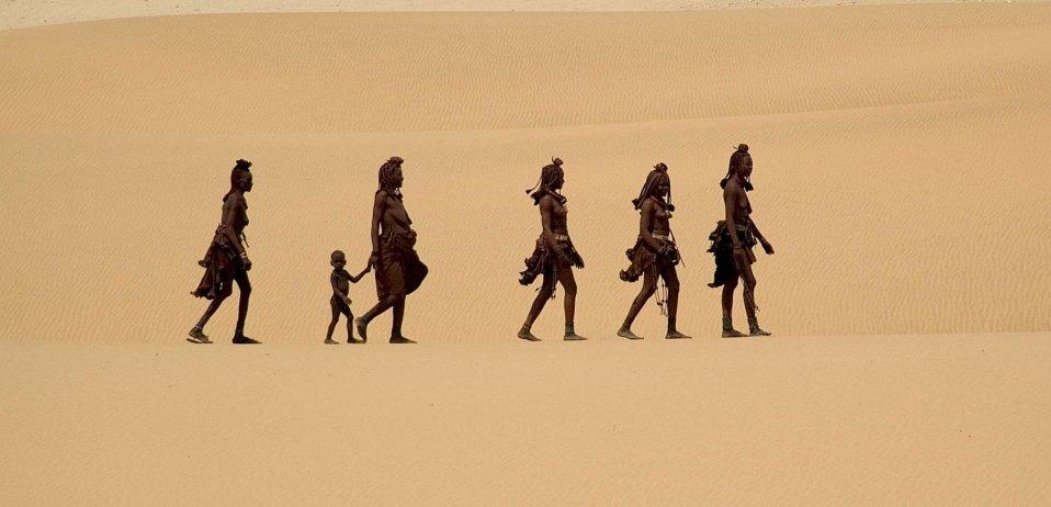 language and culture of namibia safari guide Himba