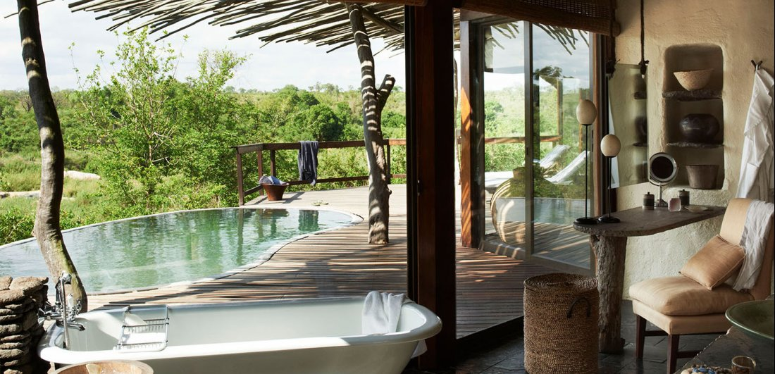 luxury kruger safari singita boulder's lodge suite