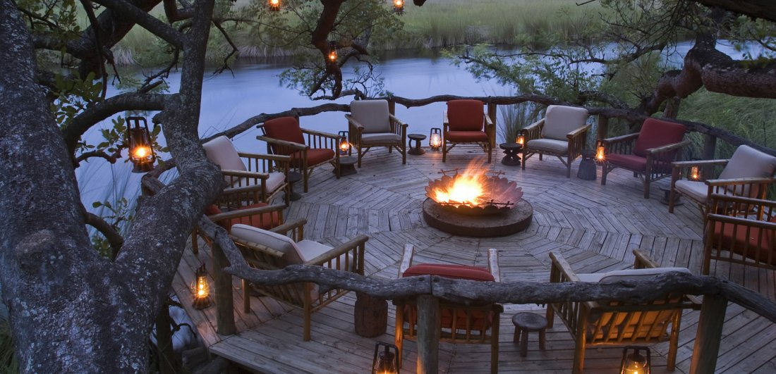 camp xakanaxa okavango delta botswana safari accommodation