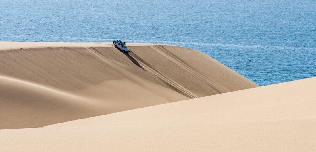 things to do in namibia 4x4 dune descent