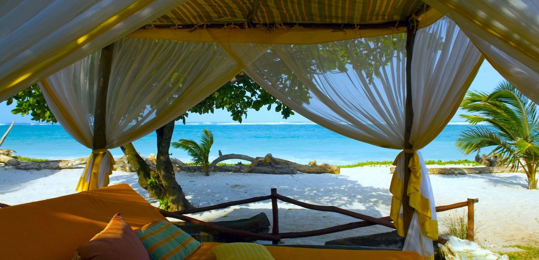afrochic diani beach honeymoon in kenya