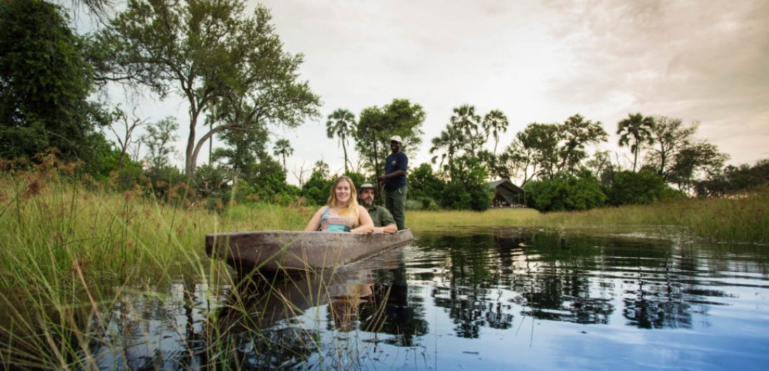 kwando splash camp okavango delta accommodation botswana safari mokoro