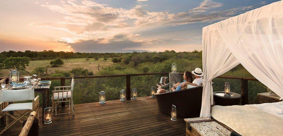 Honeymoon in Botswana with a scenic view