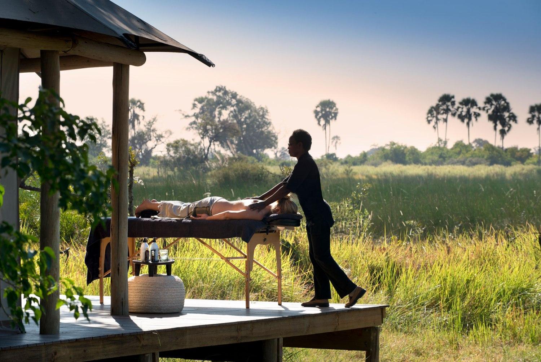 Spa Treatments in the bush