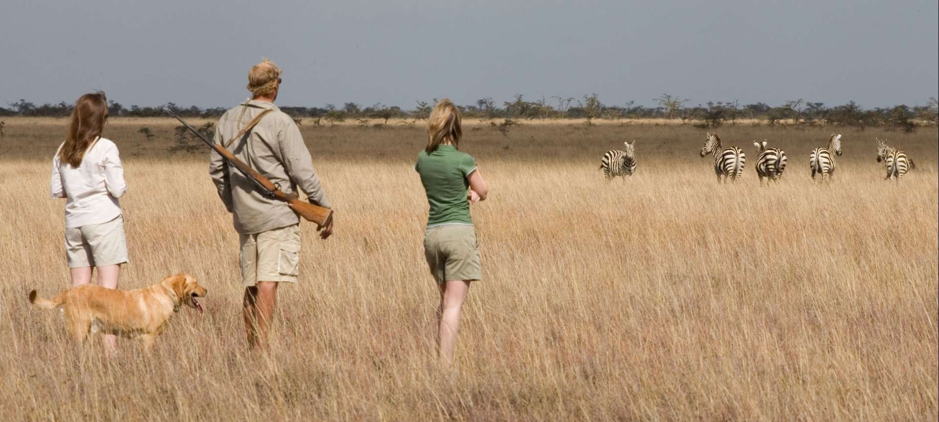 Walking safaris in Africa - Africa Wildlife Safaris