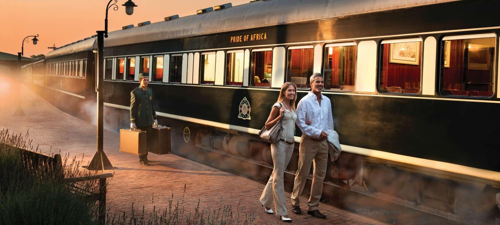 Rovos rail African train safari