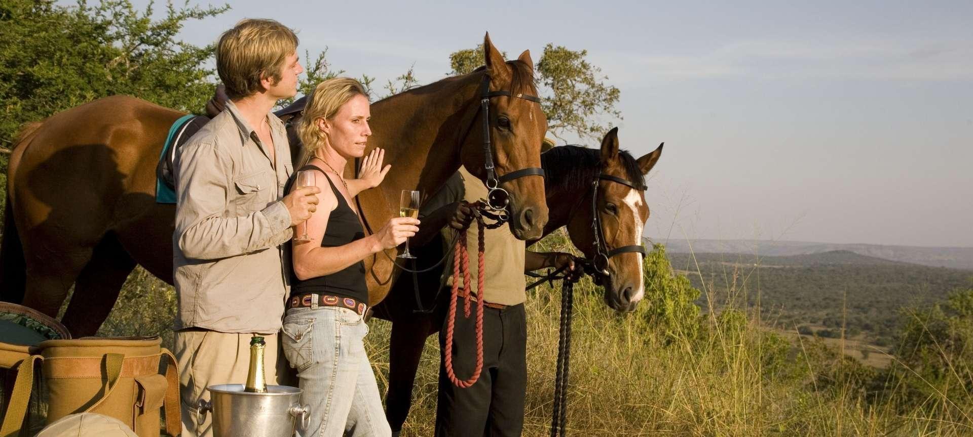 Horseback safaris in South Africa - Africa Wildlife Safaris