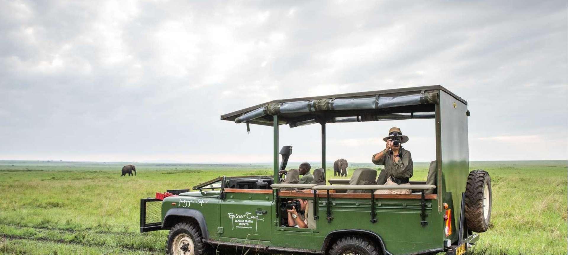 Luxury Safari in the Maasai Mara - Africa Wildlife Safaris