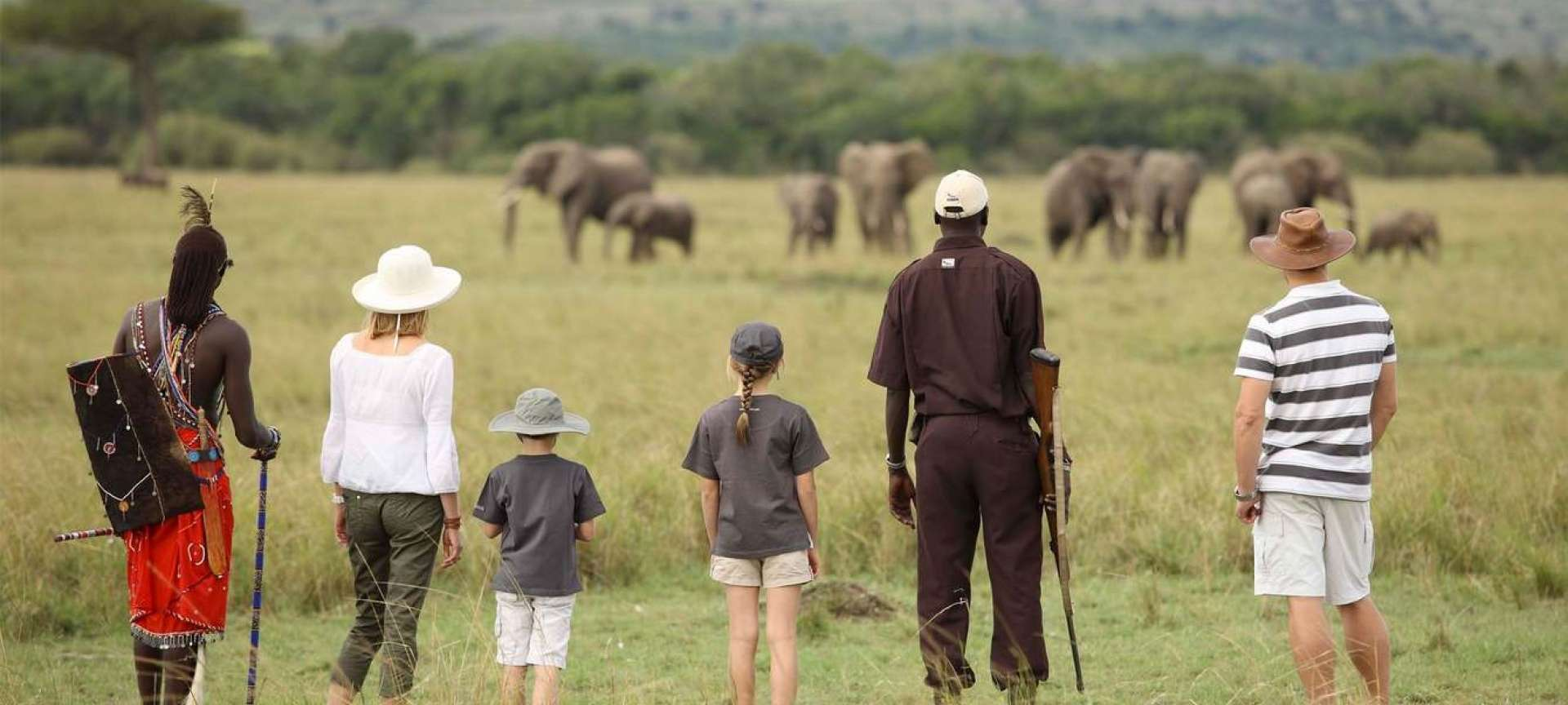 Walking safaris in Kenya - Africa Wildlife Safaris