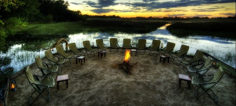 Campfire | Popular Botswana Safari Through the Delta
