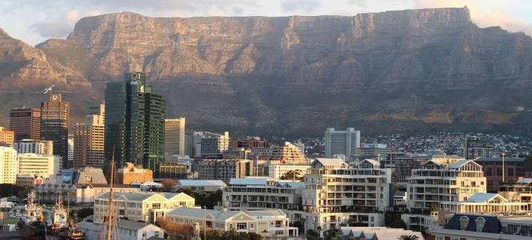 At 600 million years old, Table Mountain is thought to be one of the oldest in the world. It is six times older than the Himalayas for example.