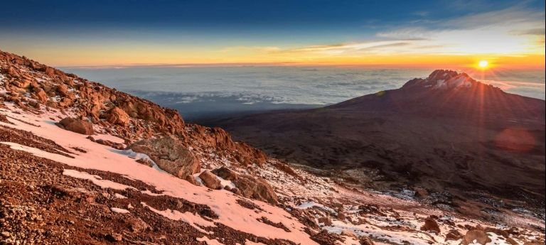 Mountain View | Two Peak Challenge: Mount Meru and Kilimanjaro