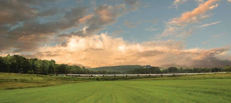 Stunning view from the Rovos Rail | The Ultimate Luxury Safari in South Africa (11 days)