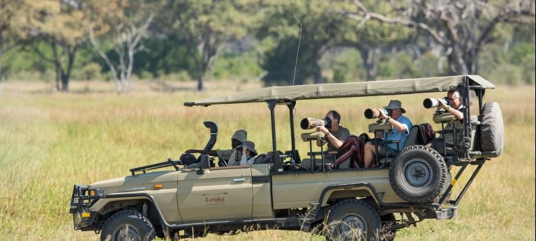 Botswana Photographic Scheduled Safari