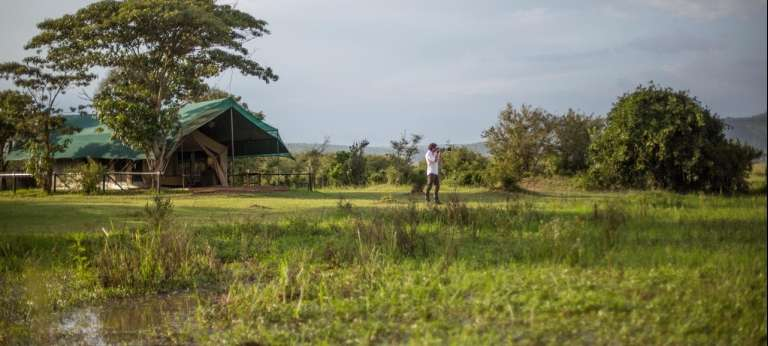 Little Makalolo Camp in Zimbabwe