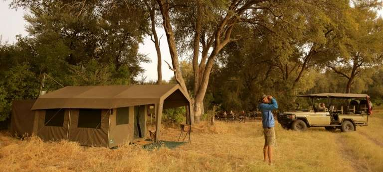 | 7-day Mobile Camping Safari in Botswana