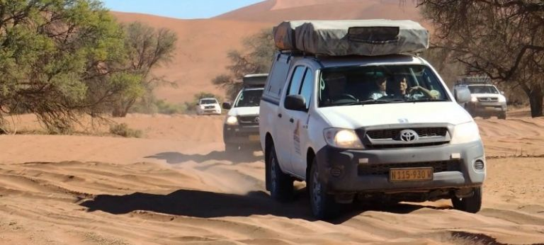 | Best of Namibia, Botswana & Victoria Falls Guided Self-drive Safari