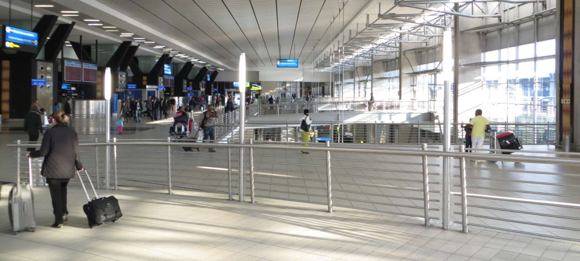 OR Tambo International Airport, Johannesburg - Africa Wildlife Safaris