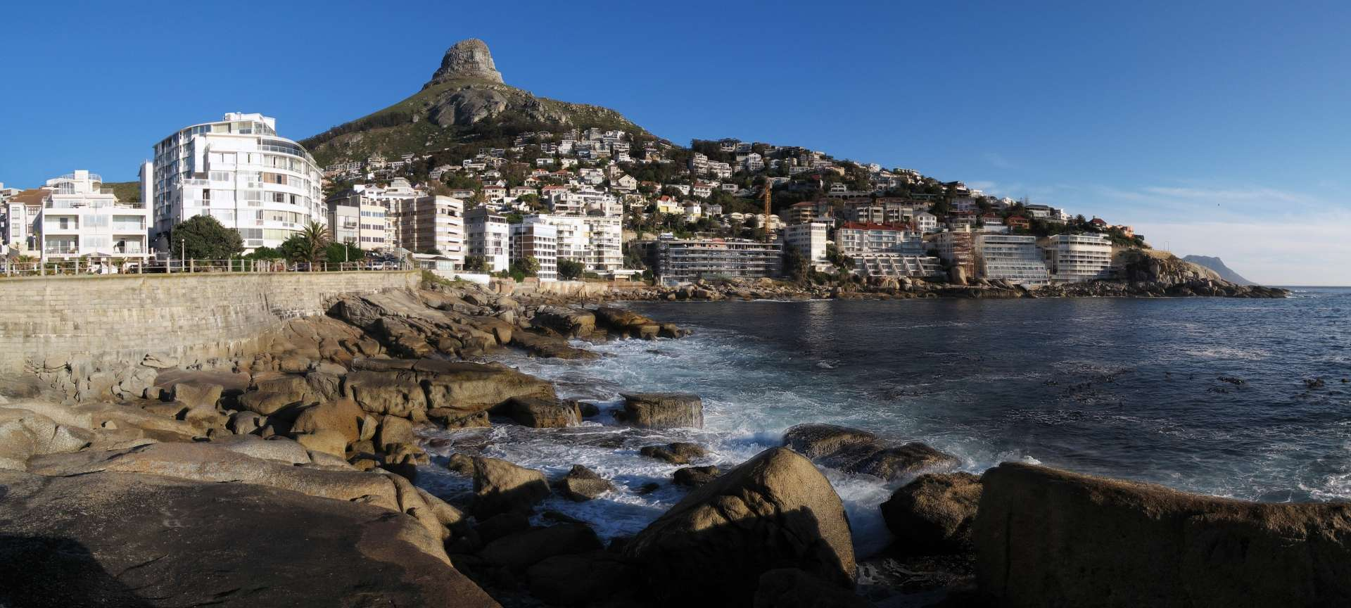 Bantry Bay is a luxurious coastal suburb along Cape Town's Atlantic Seaboard