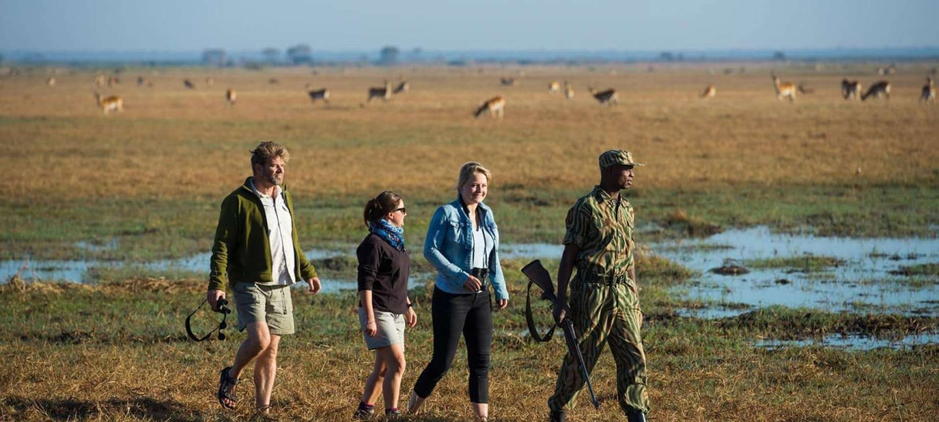 Busanga Plains - Africa Wildlife Safaris