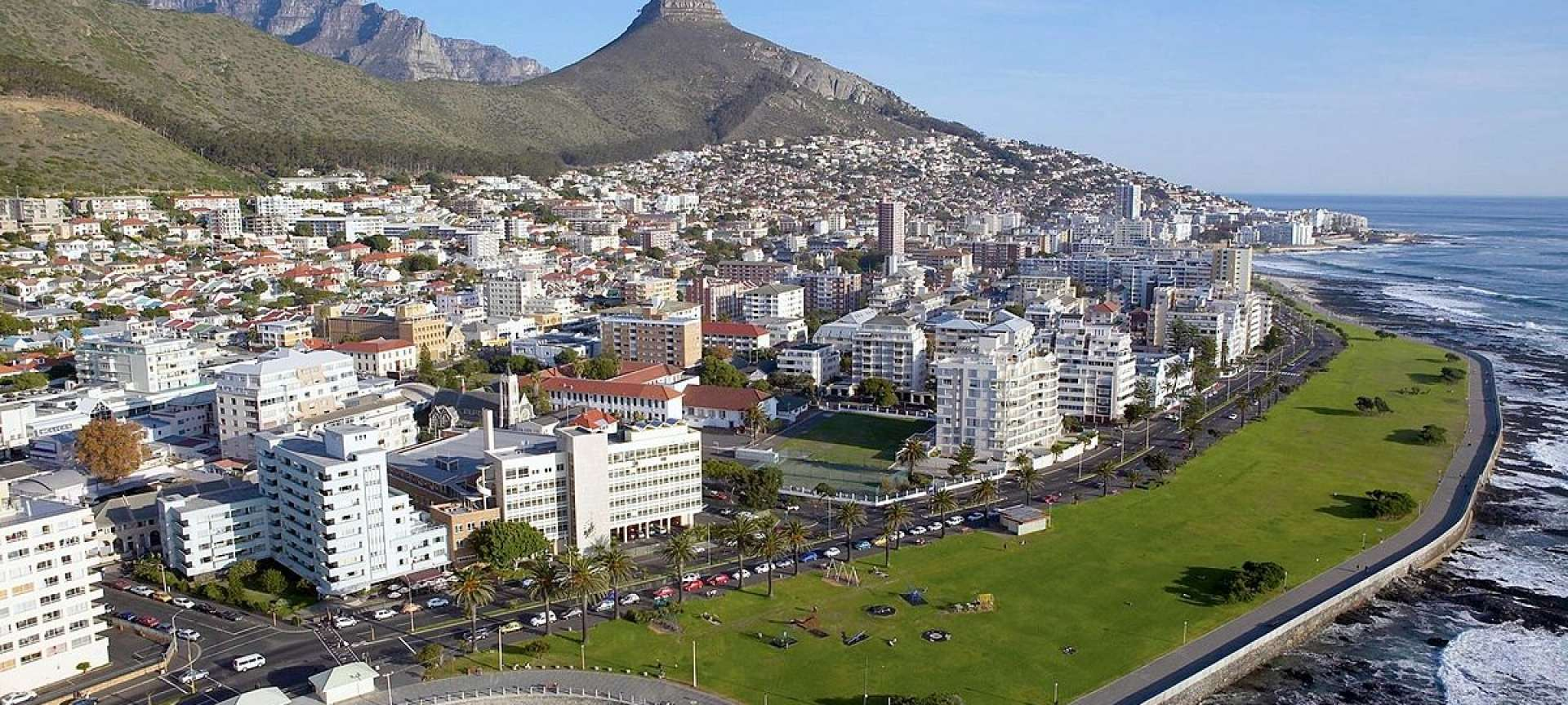 The Sea Point Promenade is somewhat of an institution for Capetonians and visitors alike.