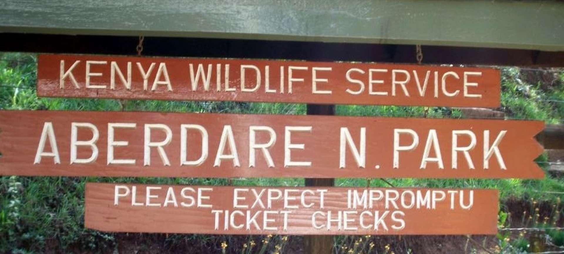 Aberdare National Park - Africa Wildlife Safaris
