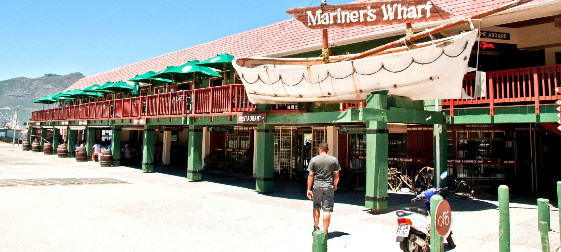 Mariners Wharf in Hout Bay is an institution - sure to be visited