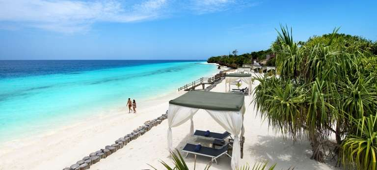 Beautiful and secluded beaches are often one of the draw cards during a luxurious Zanzibar trip