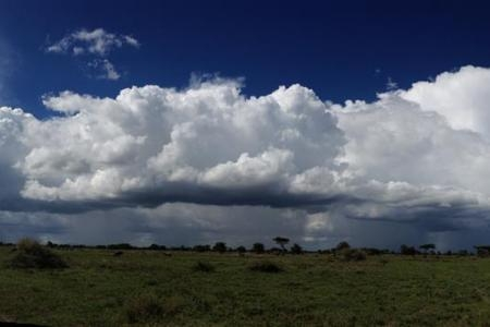 Rain clouds in Ndutu